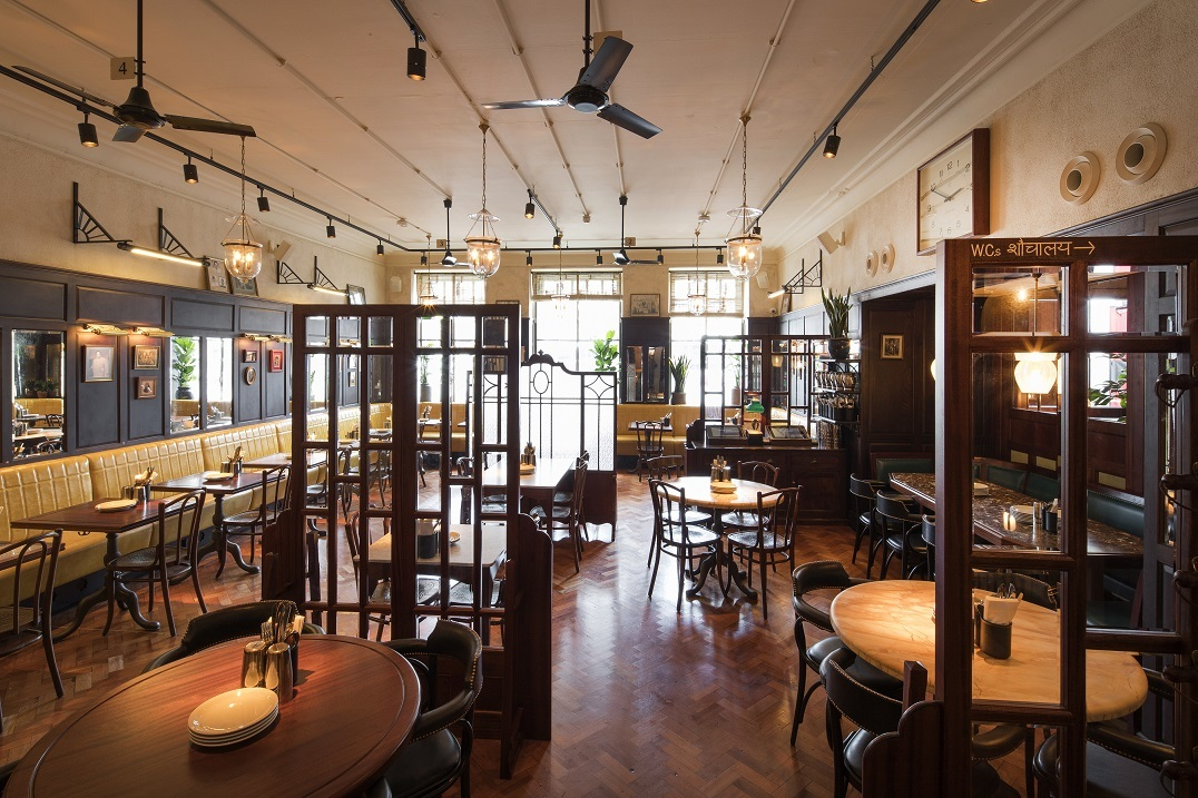 Noise control in restaurant Dishoom