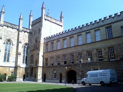 Oxford New College acoustics