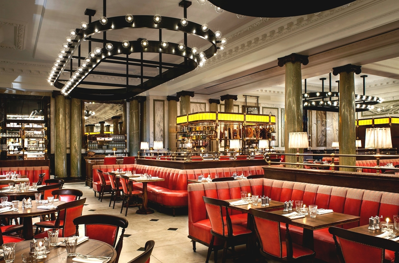 Acoustic treatment for restaurants