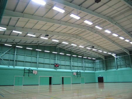 Acoustic solutions for sports halls
