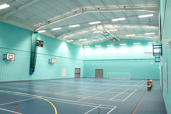 Acoustic Spray School Sports Hall Acoustics