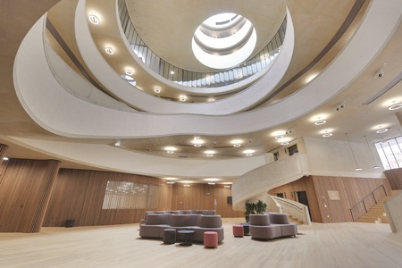 Blavatnik School of Government, Oxford - University Acoustics