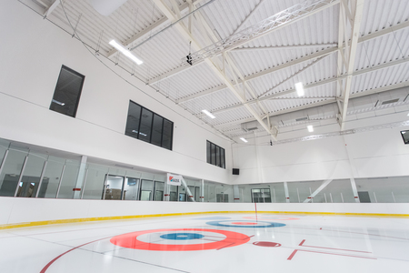 Acoustic treatment in Ice Arena
