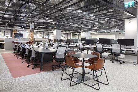 Investec office acoustics