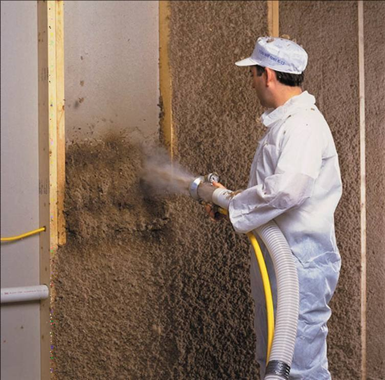 Recycled insulation for Blown mineral wool cavity insulation